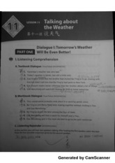 Chapter 11-Part 1, Talking About The Weather