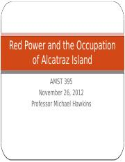 AIM and the Occupation of Alcatraz Island