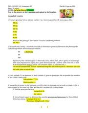 Bio homework help