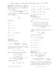 3.2 Postclass-  Product and quotient rules-solutions