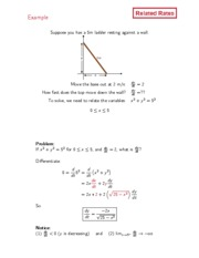 Dartmouth Math 3 Introduction to Calculus Lecture Notes 8