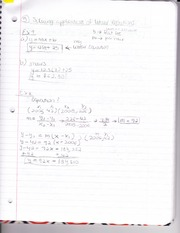 Class Notes - Solving Application of Linear Equations