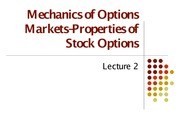 Lecture 2 (OPTIONS)