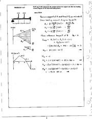 1167_Mechanics Homework Mechanics of Materials Solution