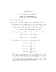 math 203Homework 2 Solutions