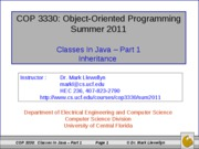 Classes In Java (5)