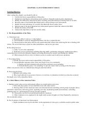 04 Chapter 4 Notes (Criminal Justice)
