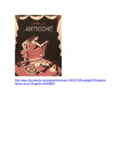 Antigone Notes and images