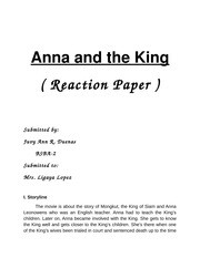 New Anna and the King