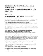 ANSWERS_TO_QUESTIONS_AT_END_OF_CHAPTERS_9TH_EDITION_.doc