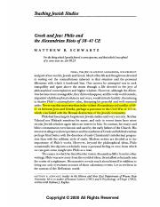 Greek and Jew - Philo and the Alexanrian Riots.pdf