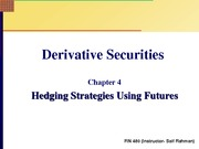 Chapter+4+Slides+New+Hedging+Strategies+Using+Futures
