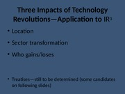 3rd Industrial Revolution