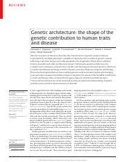 Timpson 2018 Gen Arch of Human Traits REVIEW.pdf