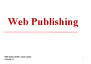 13.Web.Publishing