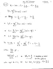 Thermal Physics Solutions CH 4-5 pg 114