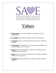SAVE Values