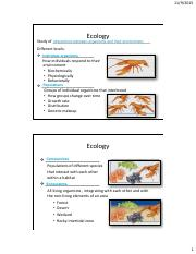 Biol 106 Lecture 21 Notes_Population Ecology(1)