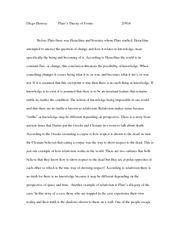 good philosophy essay topics