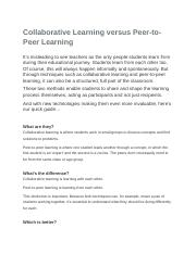 Collaborative Learning versus Peer.doc
