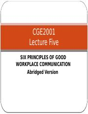 Lecture 5 Six Principles of Good Workplace Communication Abridged Version.pptx