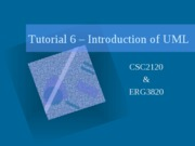 Introduction of UML