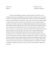Healthcare and medicine essay
