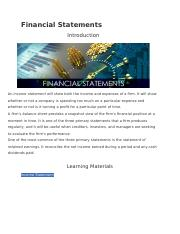 Financial Statements.docx