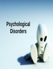 Psychological Disorders.ppt