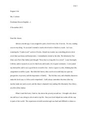 Author Essay Alexie