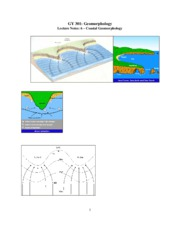 Geomorphology Notes 6