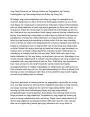 ang kahalagahan ng wastong pagpaplano ng pamilya essay