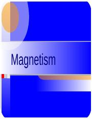 Nature of magnetism.ppt