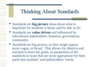 01 Standards and Objectives
