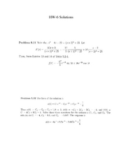HW6++Solutions