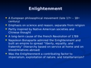 Enlightenment SF III.ppt