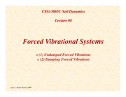 SD-Lecture08-Forced-Vibrational-Systems