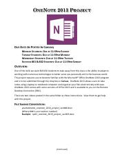 OneNote 2013 Project with Cover Page.pdf