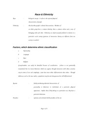 Section 7 - Race & Ethnicity