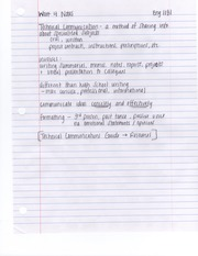 Class 4 Notes