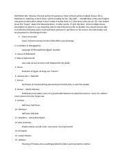 HUM1020 Test 1 Review The test will be 50 questions.docx