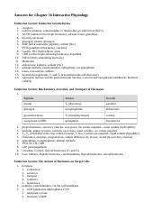 IP Answers - Endocrine