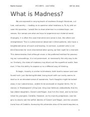 What is Madness?