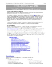 CIS350 - Web Design - Instructors Manual - Chapter 10
