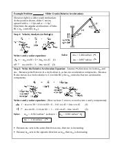 Rel Accel Example Prob 2.doc
