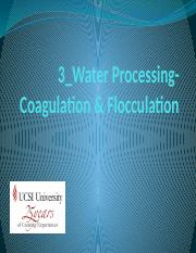 3_Water_Processing-Coagulation_Flocculation