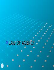 Law of agency2017