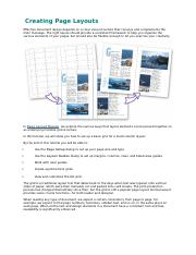 Design Creating Page Layouts.docx