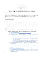 2017-18 Land L2_Acquisition of Interests in Land.doc
