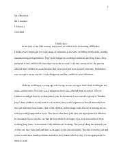 child labor essay